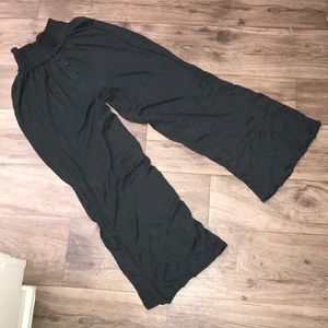 Out From Under Waffle Knit elastic pants